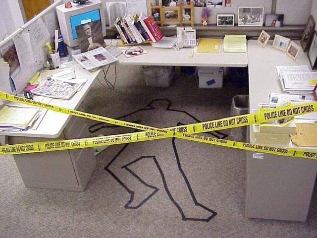 Офисный юмор и развлечения на рабочем месте