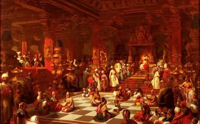 Кровавые шахматы - жестокая игра, придуманная инквизитором
