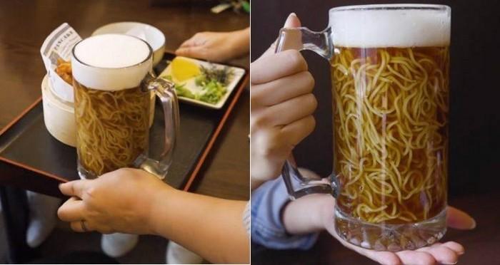 Японская лапша в пиве