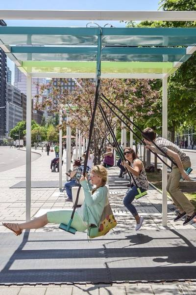Креативные решения городского дизайна