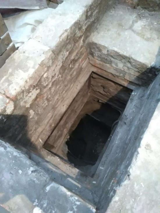 Заключенные исправительной колонии сделали подкоп для побега