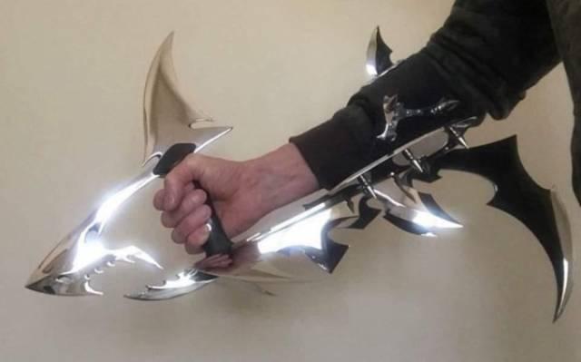 Необычное оружие, которое выглядит по-настоящему круто
