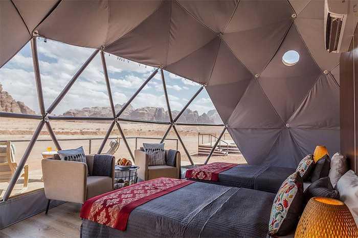 Марсианский город строится в пустыне Иордании