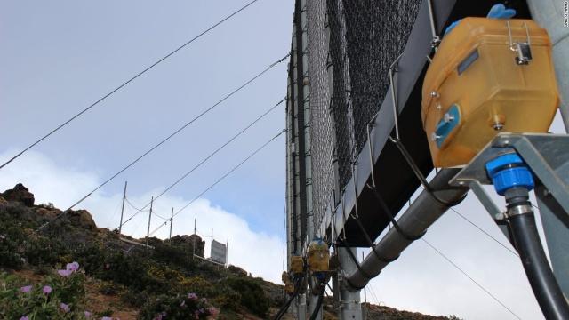 Для чего нужна такая сеть в горах?