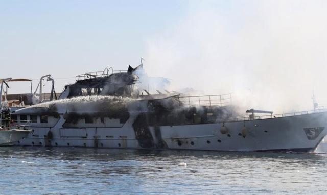 Роскошная яхта больше никогда не выйдет в море