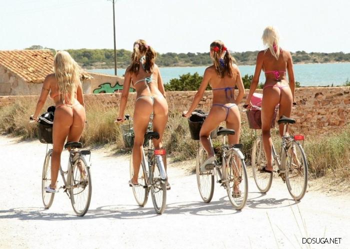 Девушки, с которыми можно покрутить педали