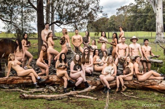 Будущие ветеринары сфотографировались голыми ради благотворительности