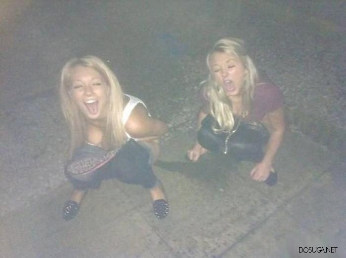Пьяные девчонки идут в отрыв