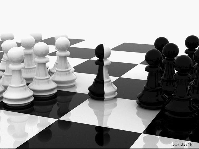 Может в шахматы партейку сыграем?