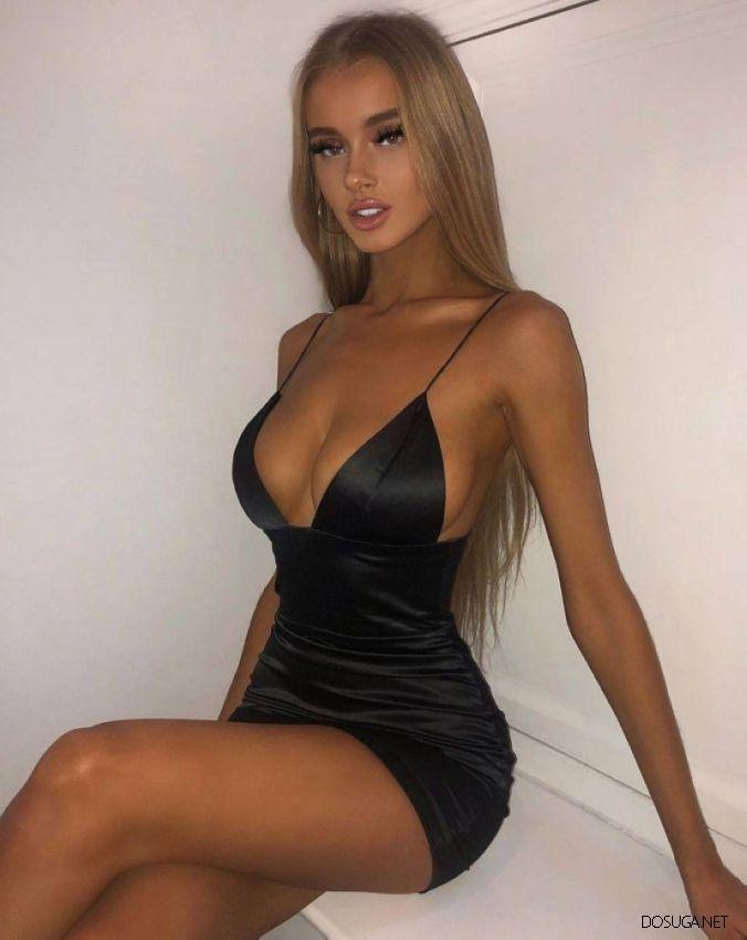 Не платье украшает девушку, а девушка украшает платье