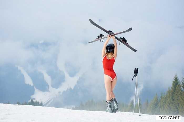 Я лыжи забыла!